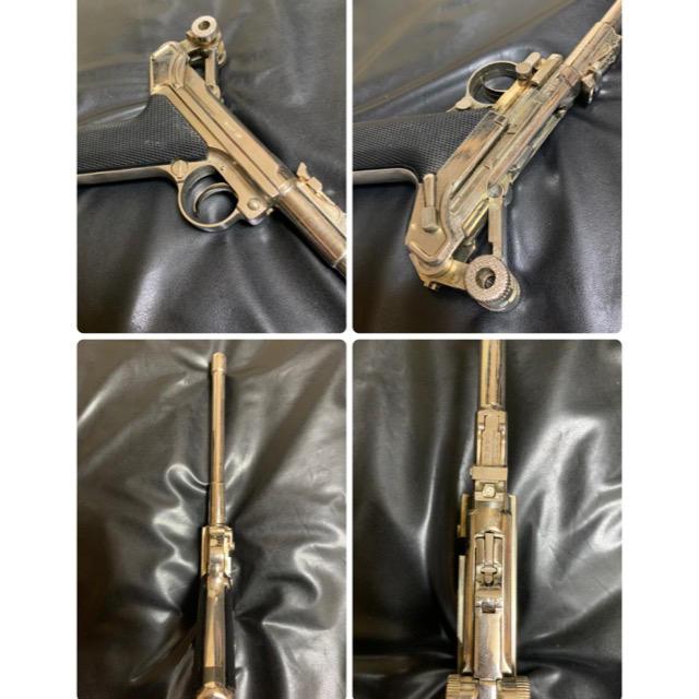 ◉マルシン 金属製 ルガーP08 タニオアクション SMG規格適合 モデルガン エンタメ/ホビーのミリタリー(モデルガン)の商品写真