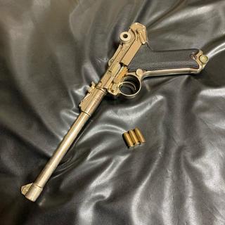 ◉マルシン 金属製 ルガーP08 タニオアクション SMG規格適合 モデルガン(モデルガン)
