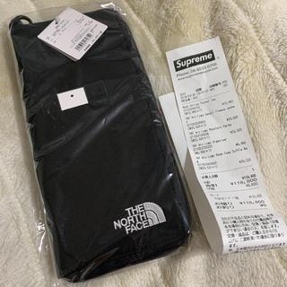 シュプリーム(Supreme)のsupreme north face ARC LOGO organizer 黒(トラベルバッグ/スーツケース)