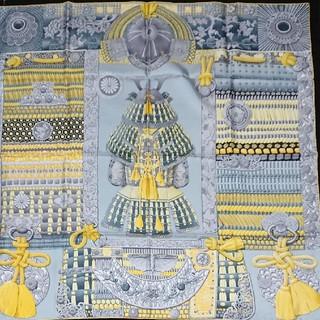 エルメス(Hermes)のMarieさまご専用 エルメス スカーフ カレ 侍の鎧兜 (スカーフ)