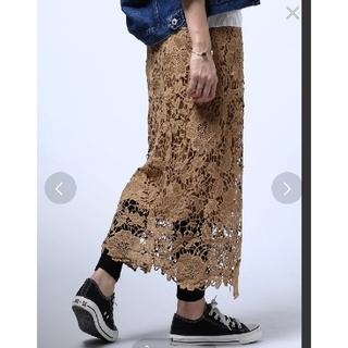 アンティカ(antiqua)のおまとめ専用アンティカ☆レース風スカート(ロングスカート)