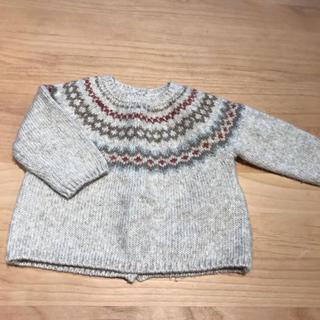 ザラキッズ(ZARA KIDS)のzara mini ノルディックセーター(ニット/セーター)
