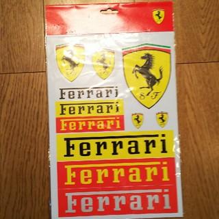 フェラーリ(Ferrari)のferrari ステッカー(ステッカー)
