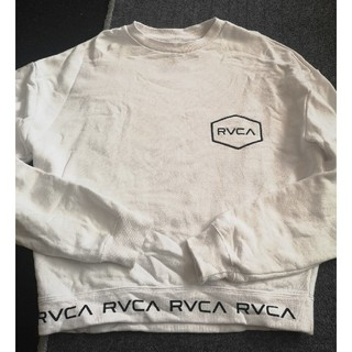 ルーカ(RVCA)の RVCA レディース BIG HEXED CR トレーナー(トレーナー/スウェット)