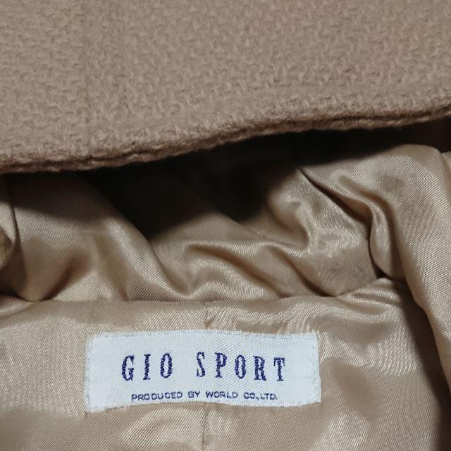 GIO SPORT(ジオスポーツ)の20%OFF!5月末まで! ワールド GIO SPORT レディースコート レディースのジャケット/アウター(ダッフルコート)の商品写真