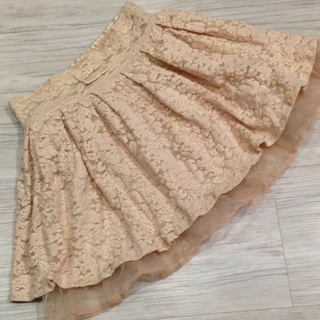 リズリサ(LIZ LISA)のフェミニン花柄フリルスカート☆リズリサ(ひざ丈スカート)