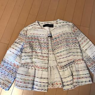 ザラ(ZARA)のタグ付き新品 ザラ シャツジャケット Lサイズ(その他)