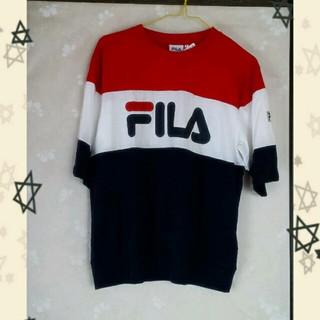 ウィゴー(WEGO)のFILAラグランTシャツスポーツmix(Tシャツ(半袖/袖なし))