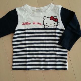 シマムラ(しまむら)のキティちゃん 長袖Tシャツ 90(Tシャツ/カットソー)