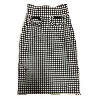 ナディア(NADIA)のギンガムチェックスカート(ひざ丈スカート)