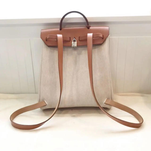 save off 82529 a3bc1 HERMES エルメス エールバッグ リュック