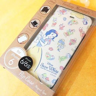 シラユキヒメ(白雪姫)の白雪姫 iPhone6/6s フリップカバー DN260C(iPhoneケース)