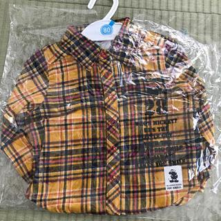 ディズニー(Disney)のディズニー キッズ 服 シャツ 80(シャツ/カットソー)