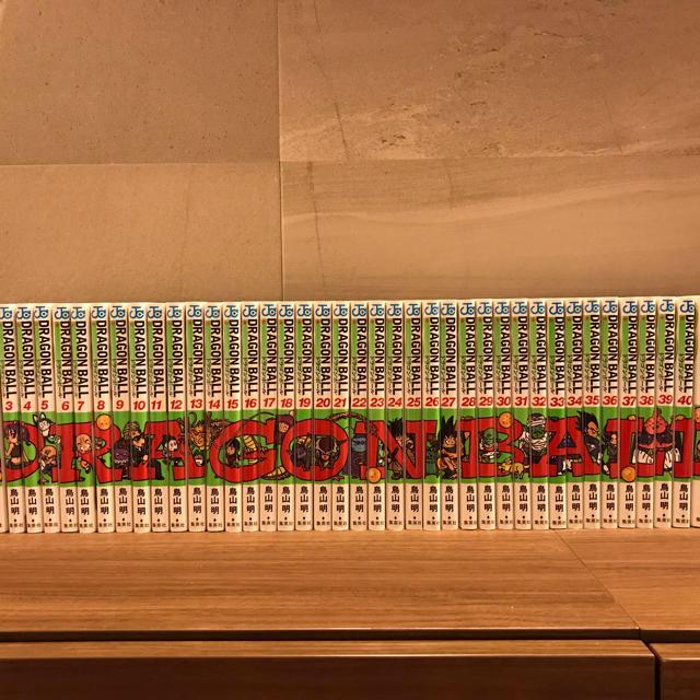 ドラゴンボール全巻セット エンタメ/ホビーの漫画(全巻セット)の商品写真