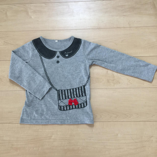 西松屋(ニシマツヤ)の西松屋  長袖Tシャツ  120  キッズ キッズ/ベビー/マタニティのキッズ服女の子用(90cm~)(Tシャツ/カットソー)の商品写真