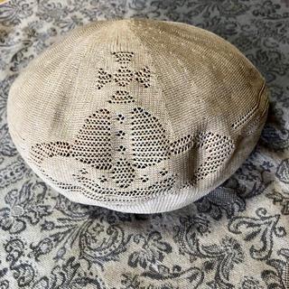 ヴィヴィアンウエストウッド(Vivienne Westwood)の*vivienne westwood*サマーベレー帽(ハンチング/ベレー帽)
