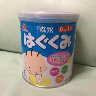 モリナガニュウギョウ(森永乳業)のはぐくみ ミルク 小缶(哺乳ビン)
