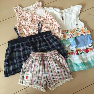 ビケット(Biquette)のキムラタン 女の子夏服♡まとめ売り90センチ(その他)