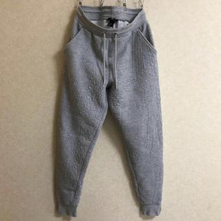 エイチアンドエム(H&M)のH&M メンズ ジョガーパンツ グレー S ウエストゴム 裾リブ ファスナー(その他)