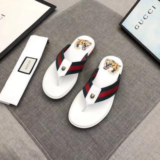 グッチ(Gucci)のGUCCIグッチ メンズ オシャレ スリッパサイズは25サイズ (サンダル)