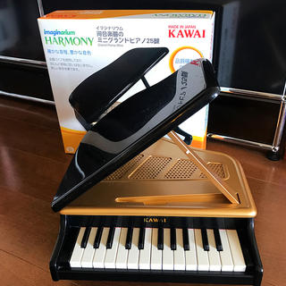 トイザラス(トイザらス)のKAWAI カワイ ミニ グランドピアノ 子供 知育 おもちゃ(楽器のおもちゃ)