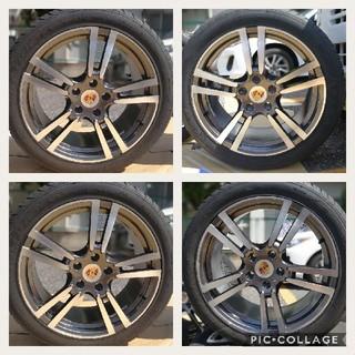 ポルシェ(Porsche)のポルシェ カイエン 955 957 958 20インチ 新品4本タイヤ付き(タイヤ・ホイールセット)
