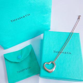 ティファニー(Tiffany & Co.)のティファニー Tiffany オープンハート ネックレス(ネックレス)
