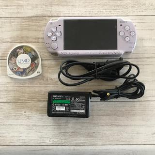 プレイステーション(PlayStation)のSONY PSP2000本体 パープル  送料無料✴︎匿名配達☆(携帯用ゲーム機本体)