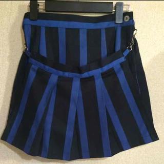 セクシーダイナマイト(SEXY DYNAMITE)のストライプ ボンテージスカート(ミニスカート)