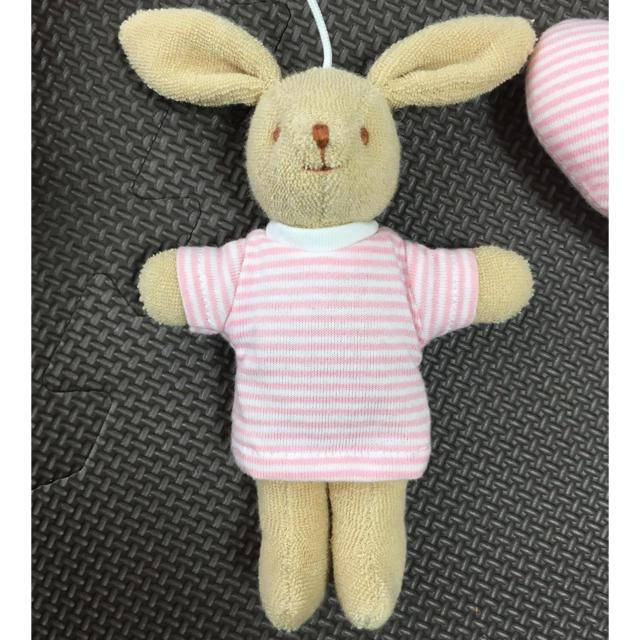 trousselier(トラセリア)のトラセリア ベッドメリー うさぎ キッズ/ベビー/マタニティのおもちゃ(オルゴールメリー/モービル)の商品写真