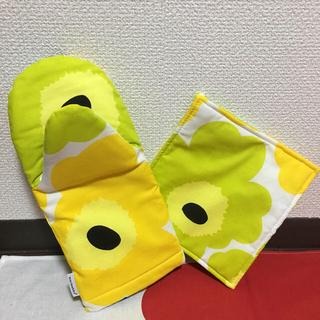 マリメッコ(marimekko)の【マリメッコ/Marimekko】鍋敷き&鍋つかみセット(キッチン小物)