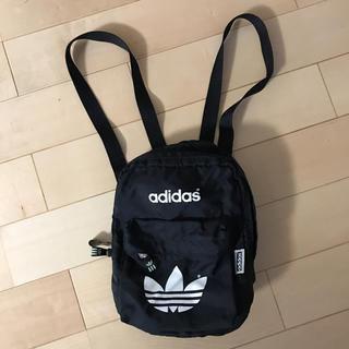 アディダス(adidas)のアディダス ミニリュック adidas ブラック(リュック/バックパック)