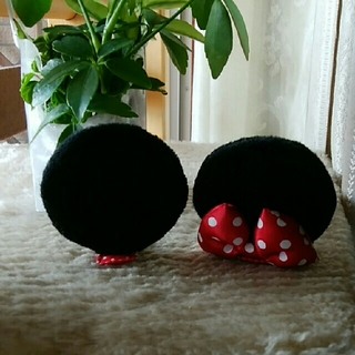 Disney - ミニーちゃんのお耳バレッタ