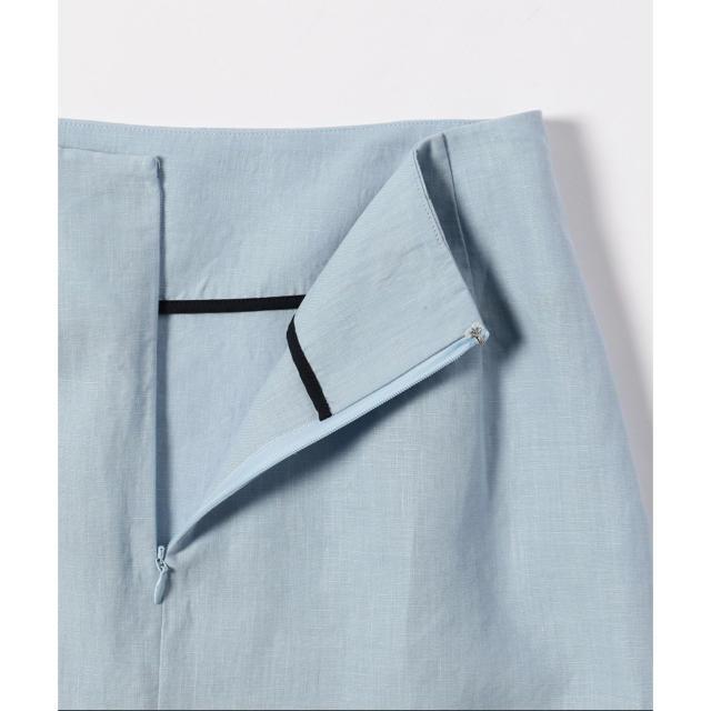 Demi-Luxe BEAMS(デミルクスビームス)のDemi-Luxe BEAMSリネンフィット&フレアスカート レディースのスカート(ひざ丈スカート)の商品写真