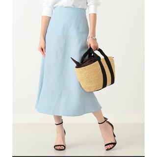 デミルクスビームス(Demi-Luxe BEAMS)のDemi-Luxe BEAMSリネンフィット&フレアスカート(ひざ丈スカート)