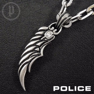 ポリス(POLICE)の【美品】POLICE ポリス BRAZE ネックレス(ネックレス)