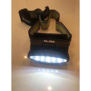 ジェントス(GENTOS)のgentos ヘッドライト HL-560(登山用品)