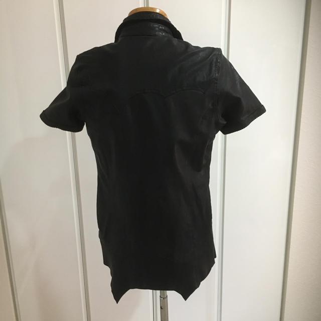 BUFFALO BOBS(バッファローボブス)のCIVARIZE シヴァーライズ ゴート レザー シャツ/44 メンズのジャケット/アウター(レザージャケット)の商品写真