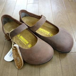 ビルケンシュトック(BIRKENSTOCK)の未使用!ビルケンシュトックMANTOVA size37(ローファー/革靴)