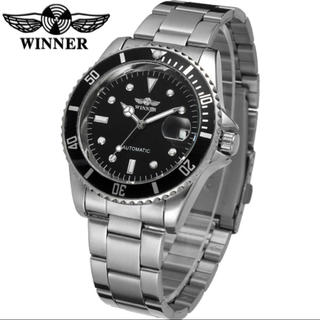 winner腕時計 メンズ ステンレス 人気モデル GMT(腕時計(アナログ))