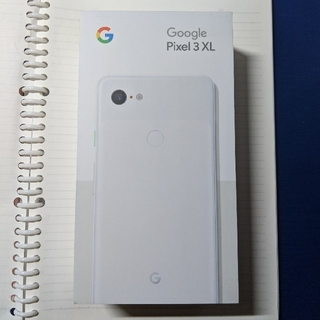 アンドロイド(ANDROID)の(極美品A)Google pixel 3 XL  White SIMロック解除済(スマートフォン本体)