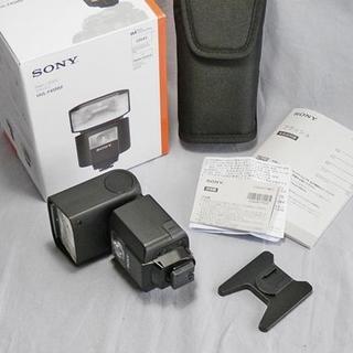 ソニー(SONY)のSONY フラッシュ HVL-F45RM ワイヤレス通信対応 送料込み(ストロボ/照明)