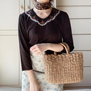 ロキエ(Lochie)のblack rose Tee(Tシャツ/カットソー(半袖/袖なし))