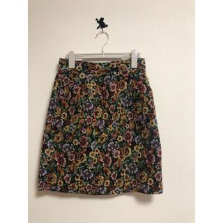 リズリサ(LIZ LISA)のゴブラン  スカート タイトスカート 膝丈スカート 花柄スカーゴスロリ リズリサ(ひざ丈スカート)