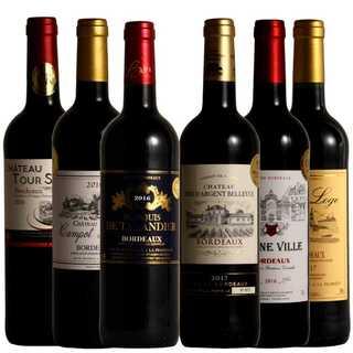 ボルドー金賞受賞 高樹齢 贅沢飲み比べ 厳選 赤ワイン 750ml 6本(ワイン)