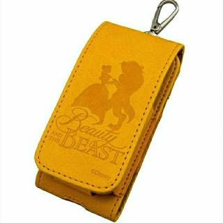 ディズニー(Disney)の新品★アイコスケース 美女と野獣 / オレンジ(タバコグッズ)