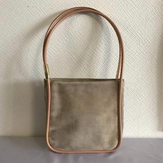eb63ab831439 グッチ(Gucci)の本物グッチGUCCI本革スエードレザーハンドバッグショルダーパーティーバック