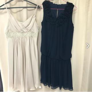 エフデ(ef-de)のドレス   ワンピース  2枚セット(ミディアムドレス)