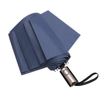 折り畳み傘 ワンタッチ 自動開閉  軽量 アルミニウム合金傘骨 (ブルー) 3(傘)