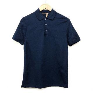 ルイヴィトン(LOUIS VUITTON)のLOUIS VUITTON ルイヴィトン LV ロゴ刺繍 ポロシャツ XS(ポロシャツ)